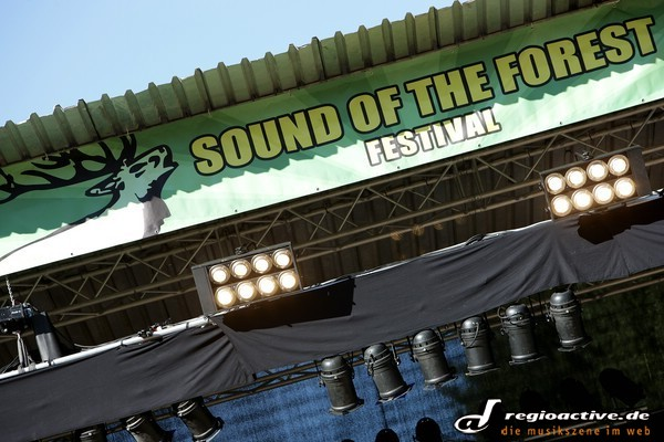 Das Drumherum beim Sound of the Forest 2010