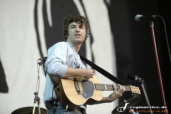 THE KOOKS (Live beim 25. Rock am See in Konstanz 2010)